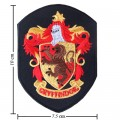 Harry Potter Gryffindor House Style-2 Embroidered Iron On Patch
