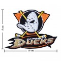 Anaheim Mighty Ducks Style-2 Embroidered Iron On Patch