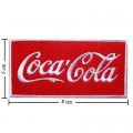 Coca Cola Coke Style-5 Embroidered Iron On Patch