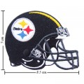 Pittsburgh Steelers Helmet Style-1 Embroidered Iron On Patch