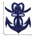 Anchor Style-12 Embroidered Iron On Patch