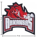 Arkansas Razorbacks Style-1 Embroidered Iron On Patch