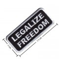 Legalize Freedom Style-2 Embroidered Iron On Patch