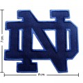 Notre Dame Fighting Irish Style-1 Embroidered Iron On Patch