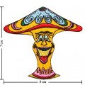 Colorful Magic Mushroom Sign Style-12 Embroidered Iron On Patch