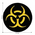 Biohazard Sign Style-1 Embroidered Iron On Patch