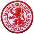 Middlesbrough Style-2 Embroidered Iron On Patch