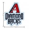 Arizona Diamondbacks Style-1 Embroidered Iron On Patch