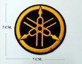 Yamaha Motors Style-9 Embroidered Iron On Patch