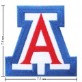 Arizona Wildcats Style-1 Embroidered Iron On Patch