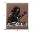 Bob Marley A Reggae Ska Band Style-11 Embroidered Iron On Patch