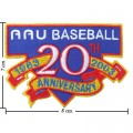 MLB Baseball 20th Anniversary 1983-2003 Embroidered Iron On Patch