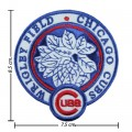 Chicago Cubs Stadium Style-1 Embroidered Iron On Patch