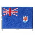 Anguilla Nation Flag Style-1 Embroidered Iron On Patch