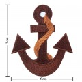 Anchor Style-15 Embroidered Iron On Patch