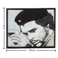 Che Guevara Sign Style-1 Embroidered Iron On Patch
