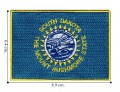 South Dakota State Flag Embroidered Iron On Patch