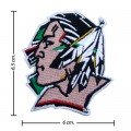 North Dakota Fighting Sioux Style-1 Embroidered Iron On Patch