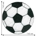 Soccer Ball Embroidered Iron On Patch
