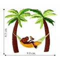 Palm Tree Style-4 Embroidered Iron On Patch