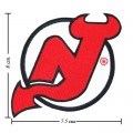 New Jersey Devils Style-1 Embroidered Iron On Patch