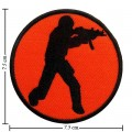 Counter Strike Action Game Style-1 Embroidered Iron On Patch