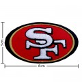 San Francisco 49ers Style-1 Embroidered Iron On Patch