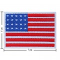 United States Of American Nation Flag Style-1 Embroidered Iron On Patch