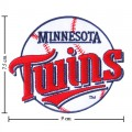 Minnesota Twins Style-1 Embroidered Iron On Patch