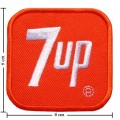 7-Up Style-1 Embroidered Iron On Patch