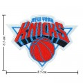 New York Knickerbockers Style-1 Embroidered Iron On Patch