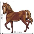 Horse Cowboy Style-2 Embroidered Iron On Patch