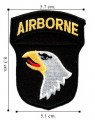 101st Airborne Division Army Ssi Embroidered Iron On Patch