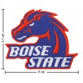 Boise State Broncos Style-1 Embroidered Iron On Patch