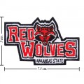 Arkansas State Red Wolves Style-1 Embroidered Iron On Patch