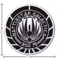 Battlestar Galactica Style-1 Embroidered Iron On Patch