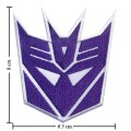 Transformers Decepticon Style-1 Embroidered Iron On Patch