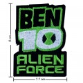 Ben10 Alien Force Style-2 Embroidered Iron On Patch
