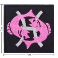 Roman Zodiac Pices Embroidered Iron On Patch
