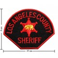 Losangeles County Sheriff Embroidered Iron On Patch