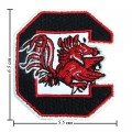 South Carolina Gamecocks Style-1 Embroidered Iron On Patch