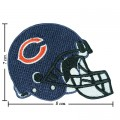 Chicago Bears Helmet Style-1 Embroidered Iron On Patch