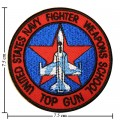 US Navy Fighter Weapons School Top Gun Style-1 Embroidered Iron On Patch