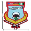 Air Force Training Fighter Pilots Style-2 Embroidered Iron On Patch