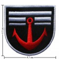Anchor Style-1 Embroidered Iron On Patch