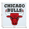 Chicago Bulls Style-1 Embroidered Iron On Patch