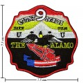 US The Alamo Navy Embroidered Iron On Patch