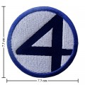 Fantastic Four Style-1 Embroidered Iron On Patch