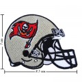 Tampa Bay Buccaneers Helmet Style-1 Embroidered Iron On Patch