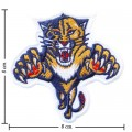 Florida Panthers Style-1 Embroidered Iron On Patch